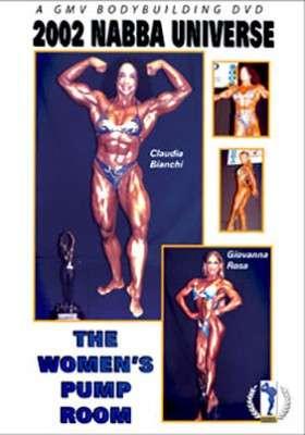 2002 NABBA Universe: Women's Pump Room (DVD)