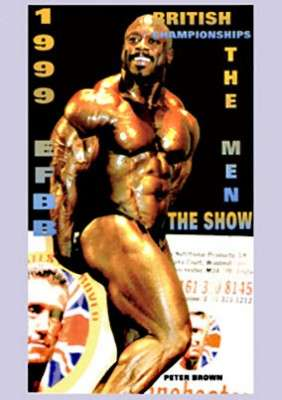 1999 EFBB Mr. Britain Finals DVD