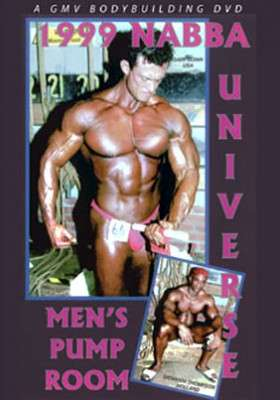 1999 NABBA Mr. Universe Pump Room DVD