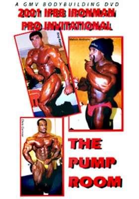 2001 IFBB Iron Man Pro Pump Room