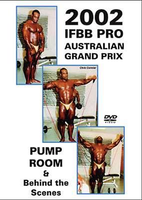 2002 IFBB Australian Pro Grand Prix Pump Room