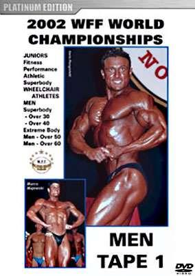 2002 WFF World Championships Men # 1 DVD