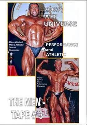 2003 WFF Universe: Men # 3