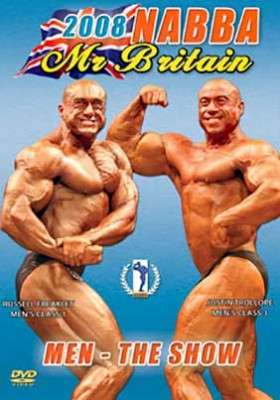 2008 NABBA Mr. Britain: Men – Show (DVD)