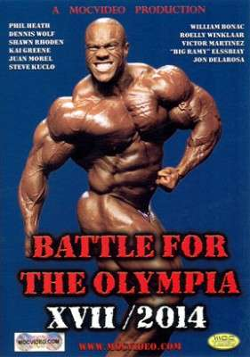 Battle For The Olympia 2014  (DVD)