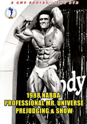 1988 NABBA Professional Mr. Universe