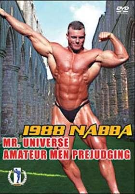 1988 NABBA Amateur Mr. U - Prejudging