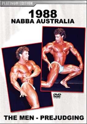 1988 NABBA Mr. Australia - Prejudging