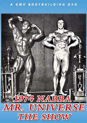 1974 NABBA Mr. Universe - Show