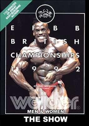 1992 EWFBB British Championships - Show
