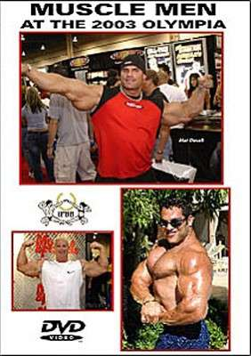 Muscle Men at the 2003 Olympia