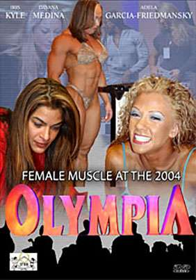 Female Muscle at the 2004 Ms. Olympia
