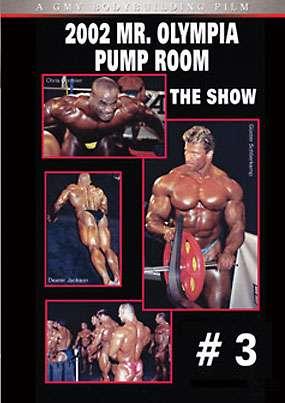 2002 Mr. Olympia Pump Room