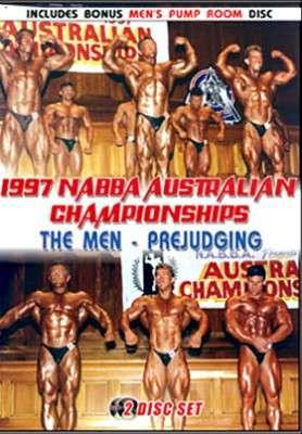 1997 NABBA Australia Men's Prejudging