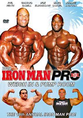 2008 Iron Man Weigh In and Pump Room