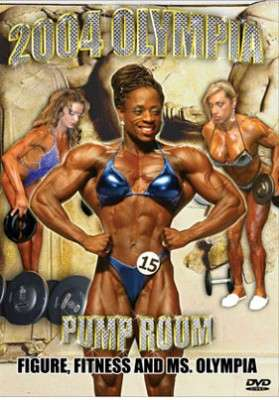 2004 Olympia Women's Pump Room (DVD)