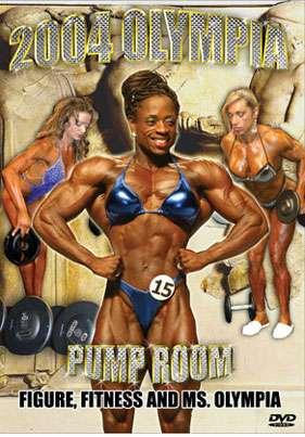 2004 Women's Olympia Pump Room