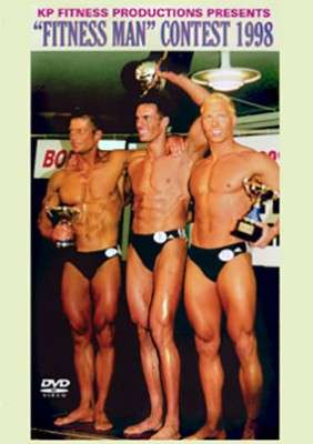1998 Fitness Man of Finland