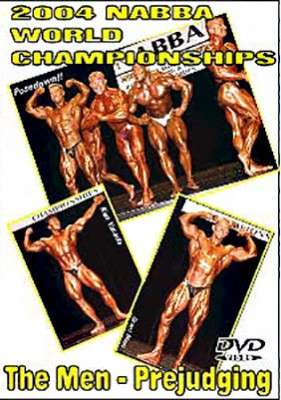 2004 NABBA Worlds Men's Prejudging