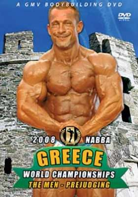 2008 NABBA Worlds Greece - Men's Prejudging