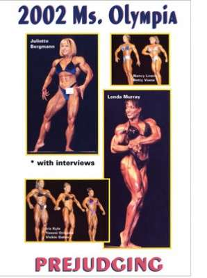 2002 Ms. Olympia Prejudging