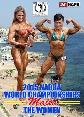 2015 NABBA World championships - women