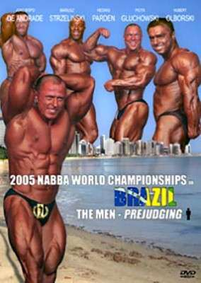 2005 NABBA World Championships: Men - Prejudging