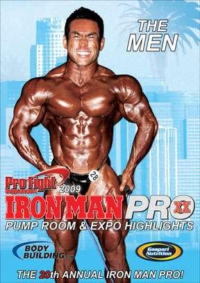 2009 Iron man Pro Pump Room & Expo Men