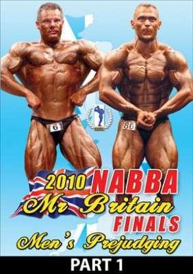 2010 NABBA Mr. Britain: Prejudging Part 1