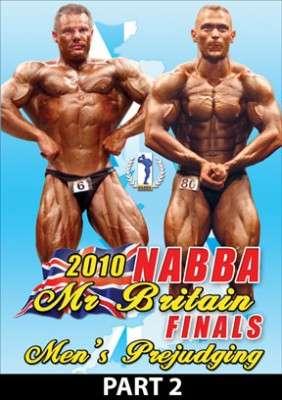 2010 NABBA Mr. Britain finals Prejudging