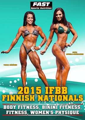 2015 IFBB Finnish Nationals - Women