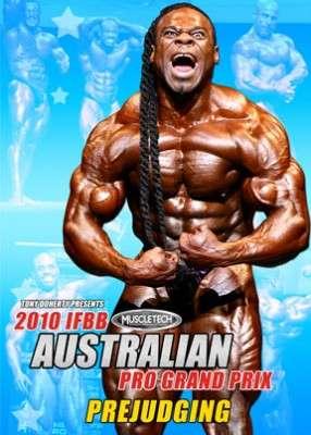 2010 IFBB Austraian Pro Grand Prix Prejudging