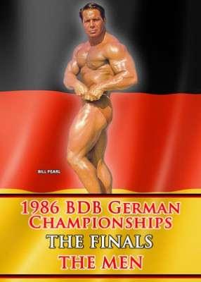 1986 BDB German Championships: Men