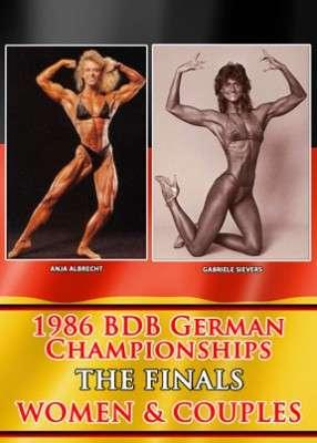 1986 BDB German Championships: Women & Couples