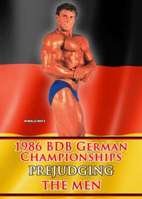 1986 BDB Germany - Prejudging Men