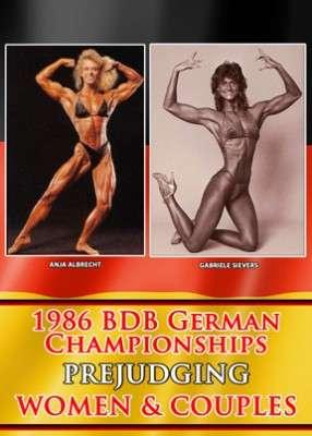 1986 BDB German Championships: Prejudging Women & Couples