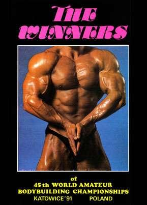 1991 IFBB Amateur World Champs - Men