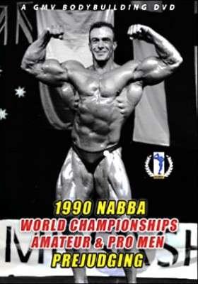 1990 NABBA Worlds Men's Prejudging