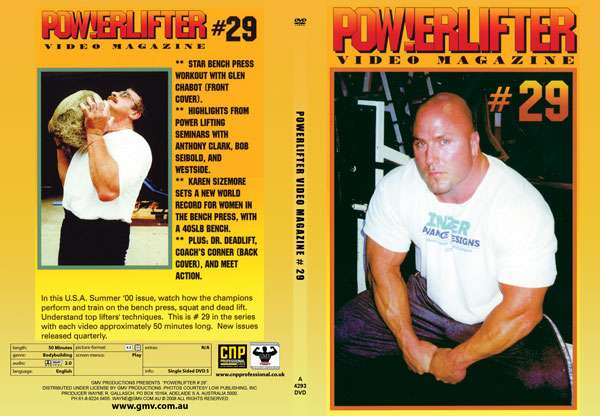 Powerlifter Video Magazine # 29 (DVD)