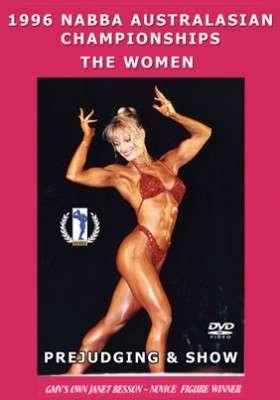 1996 NABBA Australasian Champs: Women Judging & Show