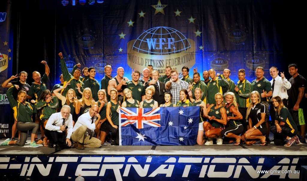 2016 WFF Universe Orlando Aussie group photo