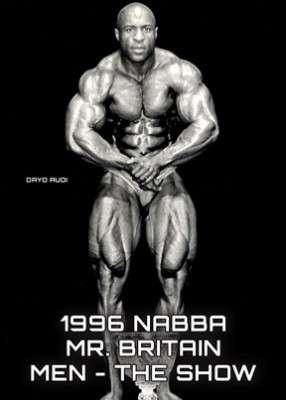 1996 NABBA Mr. Britain - Show