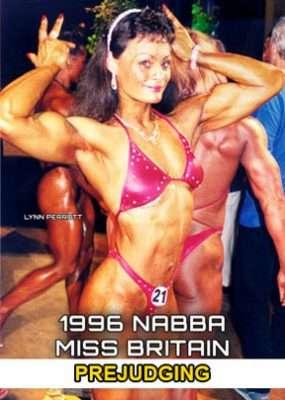 1996 NABBA Miss Britain - Prejudging
