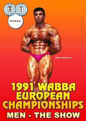 1991 WABBA European Championships Men's Show