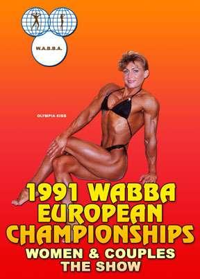 1991 WABBA European Championships, Women & Couples Show