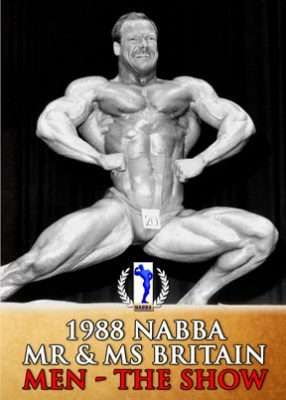 1988 NABBA Britain Men's Show
