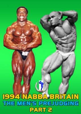 1994 NABBA Britain Men's Prejudging Part 2