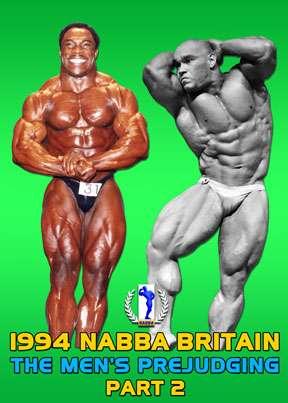 1994 NABBA Britain Men's Prejudging Part 2