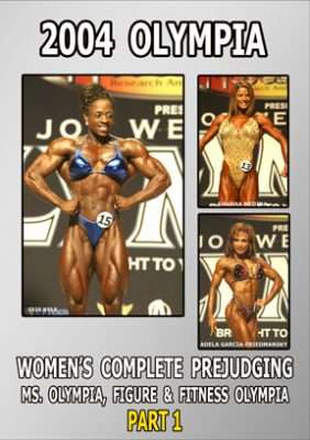 2004 Women's Olympia - Figure & Fitness Prejudging
