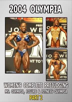 2004 Women's Olympia Prejudging Ms. O & Fitness O